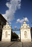 University of Warsaw main gate Royalty Free Stock Photography