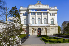 University of Warsaw, Old Library building Royalty Free Stock Images