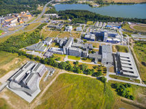 University of The West Bohemia. Royalty Free Stock Photos