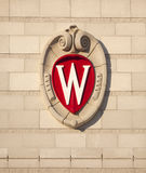 University of Wisconsin Madison School Crest Stock Images