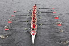 University Of Wisconsin races in HOTC Royalty Free Stock Photos