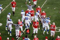 University of Wisconsin vs Buffalo Royalty Free Stock Photo