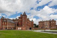 Worcester University. The University of Worcester is a public research university, based in Worcester, United Kingdom. Worcester is the only university serving Royalty Free Stock Photos