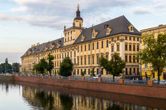 University of Wroclaw headquerter Royalty Free Stock Images
