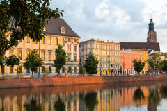 University of Wroclaw headquerter Royalty Free Stock Photography