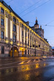 University of Wroclaw headquerter by night Stock Images