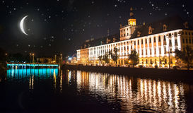 University of Wroclaw Royalty Free Stock Image