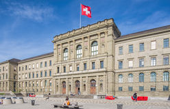 University of Zurich building Royalty Free Stock Photos