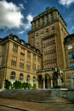 University Zurich HDR Royalty Free Stock Image