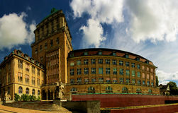 University Zurich Panorama Royalty Free Stock Photos