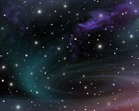 Universo Fotografia de Stock Royalty Free