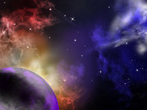 Universo Fotografia Stock