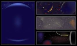 Universo Foto de archivo