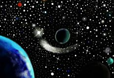 Universo Fotografia de Stock