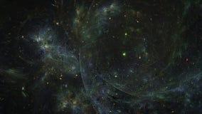 Universo abstracto ilustración del vector
