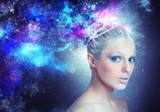Universo de la señora Imagen de archivo