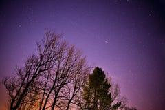 Universo de medianoche Foto de archivo libre de regalías