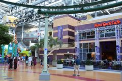 Universo de Nickelodeon em Bloomington, Minnesota foto de stock