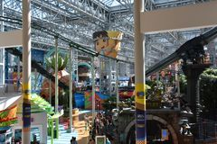 Universo de Nickelodeon em Bloomington, Minnesota imagem de stock royalty free