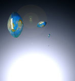 Universo del balompié Imagen de archivo libre de regalías