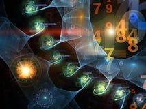Universo di Digitahi Fotografia Stock