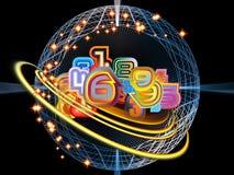 Universo di Digitahi Fotografie Stock