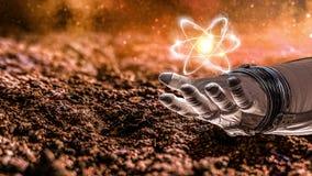 Universo e scienza dell'umanità Immagine Stock