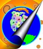 Universo estranho Imagem de Stock Royalty Free