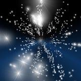Universo estremo dello spostamento di tempo Immagine Stock Libera da Diritti