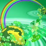 Universo irlandês Imagens de Stock Royalty Free