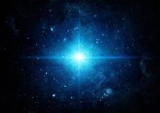 Universo llenado de las estrellas Fondo del espacio imagen de archivo libre de regalías