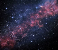 Universo misterioso Foto de archivo libre de regalías