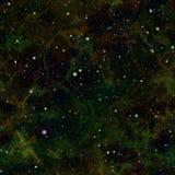 Universo oscuro abstracto cielo estrellado de la noche Espacio exterior de la nebulosa Fondo galáctico de la textura Vector incon imagen de archivo