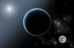 Universo solare del sistema Immagine Stock Libera da Diritti