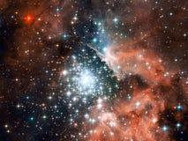 Universo - Starfield Imagens de Stock