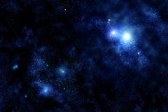 Universo - Starfield Fotos de Stock Royalty Free