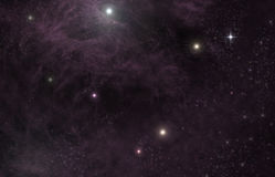 Universo Starscape Fotos de archivo libres de regalías