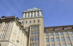 Universtiy, Zürich lizenzfreies stockfoto