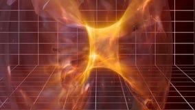 Universum-Kosmos-Zeit-raum Animation stock video