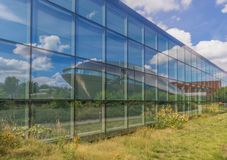 Universum nauki centrum Bremen, Niemcy zdjęcie stock