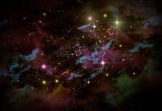 Universum Starscape Royaltyfri Fotografi