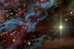 Universum Starscape Arkivfoton