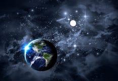 Universum Starscape Royaltyfria Foton
