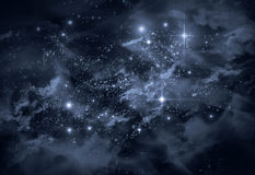 Universum Starscape Arkivfoto