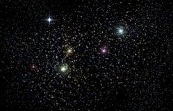 Universum Starscape der Illustrations-3D lizenzfreie abbildung