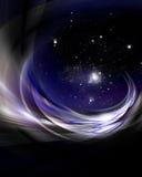 Universumhintergrundauslegung Stockbild