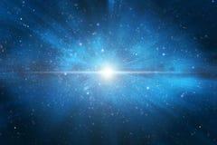 Universumkonstellation mit Sterngalaxienebelfleck stockbilder
