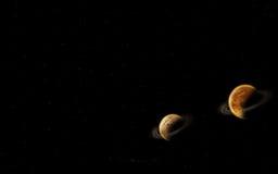 Universumplanet Stockbilder