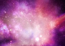 Universumstjärnor royaltyfri illustrationer