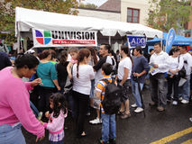 Univision Stand Stock Photography
